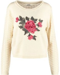 Molly Bracken Strickpullover off white Molly Bracken, Online Shops, Off White, Sweaters, Clothes, Material, Fashion, Cheap Fashion, Online Shopping