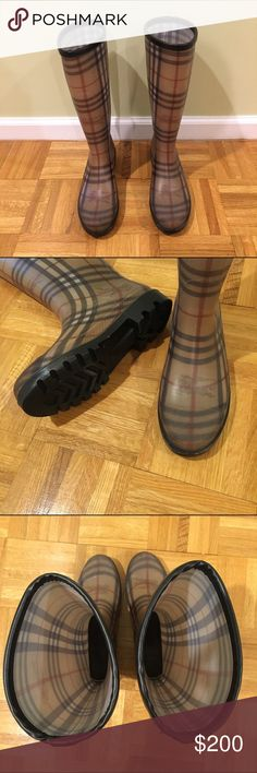 Burberry Winter/Rain Boots Burberry Winter/Rain Boots good condition Burberry Shoes Winter & Rain Boots