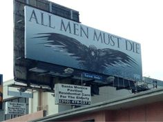 Image of the Day: Awkward Game of Thrones ad placement #gameofthrones #got