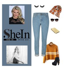 """shein.com"" by surfernurd ❤ liked on Polyvore featuring Hydrogen, Speed Limit 98, Ray-Ban, Goldgenie, shein and witneycarson"