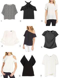 9 Short Sleeve Blous