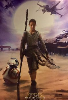 Since the first wave of Star Wars: The Force Awakens merchandise has been  unleashed on the world, we have a new set of promo art to share with you.  It originates from Les Toiles Heroiques, and the images come from a 2016  calendar, TOPPS trading cards, and more.  Also, LEGO has released seven new videos that feature some of the vehicles  in action. They are not embeddable, so you have to click here if you want  to watch them.  The J.J. Abrams-directed film hits theaters on December 18th.