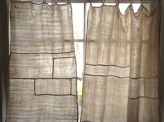 DIY: 10 Patchwork Curtains Made from Vintage Linens