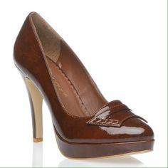 Shoesdazzle Delphine Platform Ladies Shoe.Size 10