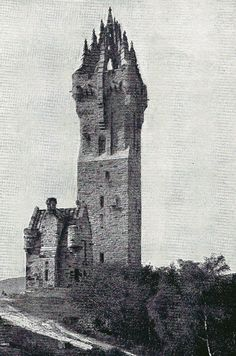 THE WALLACE MONUMENT, ABBEY CRAIG, STIRLING