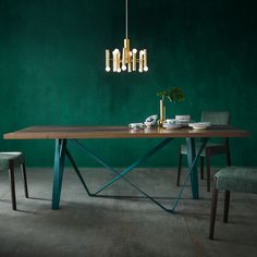 Found it at AllModern - Morgan Glamour Extendable Dining Table