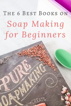Are you itching to learn how to make soap? Here are 6 of the best books on soap making for beginners to get you started successfully! Whether you want to learn how to make melt and pour soap, or you're ready to go all-in and make soap from scratch, these awesome books will teach you everything you need to know to make homemade soap. Pin to save, then click over to my farm blog for the 6 soap making books in my library that I use again and again. Homemade Skin Care, Diy Skin Care, Handmade Soap Recipes, Soap Melt And Pour, Soap Making Process, Soap Colorants, Lotion Recipe, Making Books, Diy Lip Balm