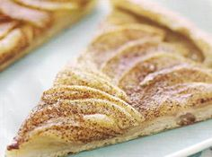 Cinnamin Apple Pizza - I will add a struesel & glaze to mine...delish!