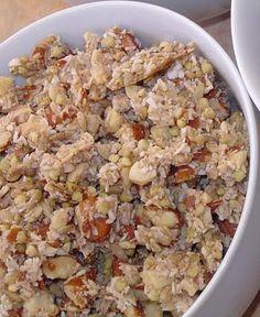 Sweetly Raw: Coconut Vanilla Crunch Granola