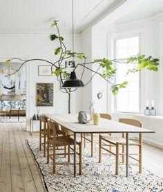 Organic Modern Room Inspirations /