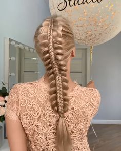 Amazing by lova_studio easy knotted braid tutorial Bun Hairstyles For Long Hair, Braids For Long Hair, Girl Hairstyles, Braided Hairstyles, Crazy Braids, Female Hairstyles, Hairstyles Videos, Hairstyle Men, Style Hairstyle