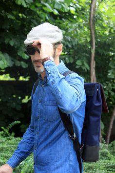 Menilmontant Backpack - Canvas #madeinfrance #Backpack #Men