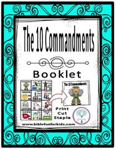 The 10 Commandments booklet