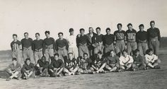 The early football teams played with second hand and very well worn uniforms and sports equipment. When they traveled to Hollywood to play the Blackfoxe Military Academy in 1939, many movie stars in attendance were taken aback by the team's appearance. In response, the stars donated new uniforms and equipment for the team. Boys Town went on to win their game against Blackfoxe. | BoysTown.org
