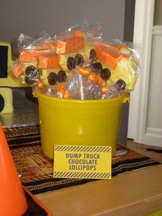 Dump Truck Chocolate!