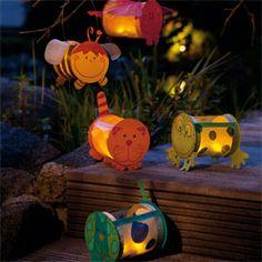 JAKO-O Leuchttierchen, Bastelset für 5 Stück - Runde Sache