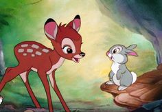 Bambi (Picture cartoon character and history. Bambi (Picture animated movie and comic. Disney Magic, Walt Disney, Disney Films, Disney Amor, Cute Disney, Disney Pixar, Disney Characters, Disney Cinema, Disney Wiki