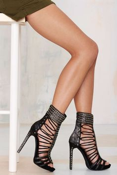 Jeffrey Campbell Zuri Pony Hair Heel | Shop Shoes at Nasty Gal!