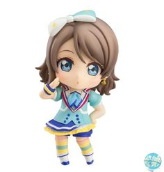 """Good Smile Company opens pre-orders today for their """"Love Live!"""" Watanabe  You Nendoroid figure, which is proposed wearing her outfit from the song  """"Aozora ..."""