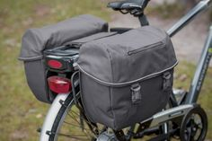 """FastRider Double E-Bike Bicycle Bag """"Nils"""""""