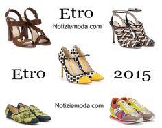 Scarpe Etro primavera estate 2015 moda donna