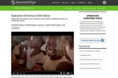 Are you looking for downloadable Operation Christmas Child videos to share with your friends, family and colleagues? Visit: http://www.samaritans-purse.org.uk/what-we-do/operation-christmas-child/occ-videos/