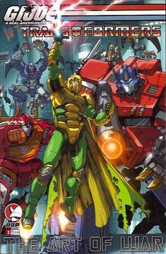 GI Joe vs. Transformers Art of War (2006 3rd Series) 3A - Transformers, GI Joe vs. Transformers Art of War