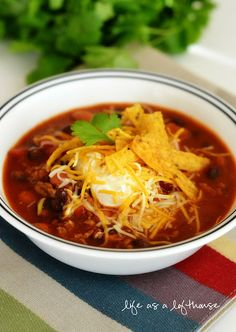 Taco Ranch Chili - Life In The Lofthouse