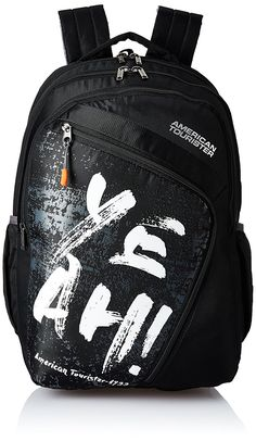 American Tourister 36 Ltrs Black Casual Backpack (AMT VOLT BACKPACK 01 -  BLACK) c60e0b8dbce8c