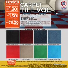 Other Services for sale, in Klang, Selangor, Malaysia. Thinking of renovating your office? Carpet tils is a good flooring option for you! id: 802067 Best Flooring, Diy Flooring, Flooring Options, Carpet Flooring, Cost Of Carpet, Carpet Sale, Types Of Carpet, Office Carpet