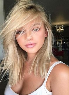 Check out unique and side swept long hairstyles for blonde hair colors 2018. Here you may find best hair colors 2018 long hair cuts to make you look extra cute and perfect.