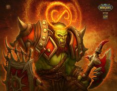 #wowtcg #warcraft #orc #warrior #guerrier