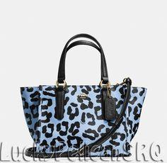 Crosby Mini Carryall in Ocelot Print Crossgrain Leather Cheap Coach Purse Handbags Discount Coach Bags, Coach Handbags Outlet, Cheap Coach Bags, Coach Purses, Purses And Handbags, Coach Outlet, Fashion Handbags, Camouflage, Handbag Accessories