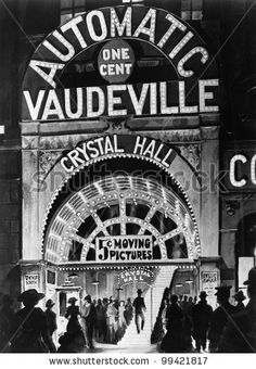 Poster of the automatic Vaudeville by Everett Collection, via ShutterStock