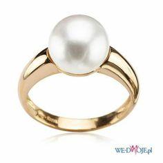 pierścionek Yes z perłą
