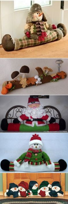 Christmas decorations Brownie brownie 6 names Crafts For Girls, Hobbies And Crafts, Diy And Crafts, Noel Christmas, Christmas Crafts, Christmas Ornaments, Snowman Crafts, Arts And Crafts Movement, Christen