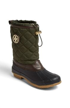Tory Burch 'Denai' Rain Boot (Women). I have a pair of rain boots but WOW do I love these!