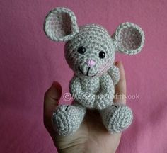 Morris The Mouse Free Crochet Pattern