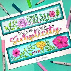 Hand Lettering Alphabet, Doodle Lettering, Creative Lettering, Brush Lettering, Decoration Shabby, Brush Pen Calligraphy, Nail Drawing, Marker Paper, Hand Lettering Tutorial