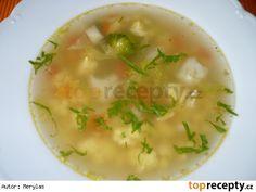 Blesková polévka s vaječnou jíškou Cheeseburger Chowder, Food And Drink, Cooking, Ethnic Recipes, Soups, Kochen, Soup, Brewing, Chowder