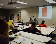 Cort Furnishing helped students learn about the resources available for home stagers