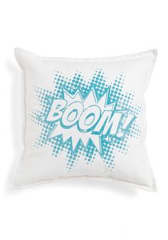 Graphic Novelty Pillow in Boom!, #ModCloth