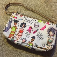 LeSportSac Pouch This hilarious pouch is full of personality and would make a great makeup pouch. LeSportsac Bags Cosmetic Bags & Cases
