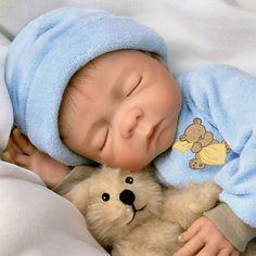 Sweet Dreams, Baby Jacob: So Truly Real 18-Inch Realistic Lifelike Baby Boy Doll by Ashton Drake