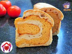 Pane in cassetta al pomodoro
