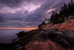 Bass Harbor Head Light is a lighthouse located within Acadia National Park on the southeast corner of Mount Desert Island, Maine, marking the entrance to Bass Harbor and Blue Hill Bay.