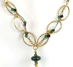 Jingle Bells Necklace | AllFreeJewelryMaking.com