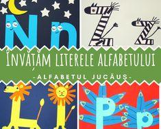 Alfabetul jucăuș - învăţăm literele ALFABETULUI!