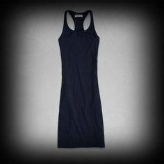 Abercrombie&Fitch レディース ドレス アバクロ Abra Bodycon Midi Dress ワンピース  ★ヴィンテージウォッシュがコーディネイトしやすくて個性的な古着っぽい味がでてお洒落。   ★ポリエステル-68%レーヨン-31%スパンデックス-1%で肌ざわり着心地バツグン!