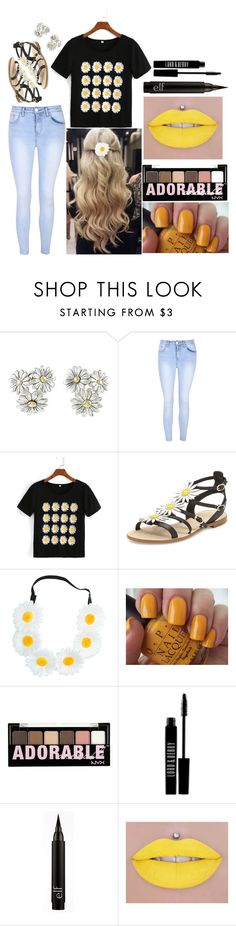 """""""Bailey: August 31, 2016"""" by disneyfreaks39 ❤ liked on Polyvore featuring Gucci, Glamorous, WithChic, Kate Spade, Capelli New York, OPI, NYX and Lord & Berry"""